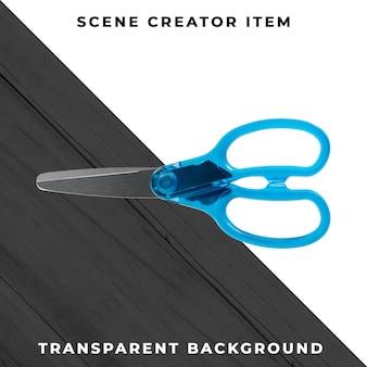 Scissors object transparent psd