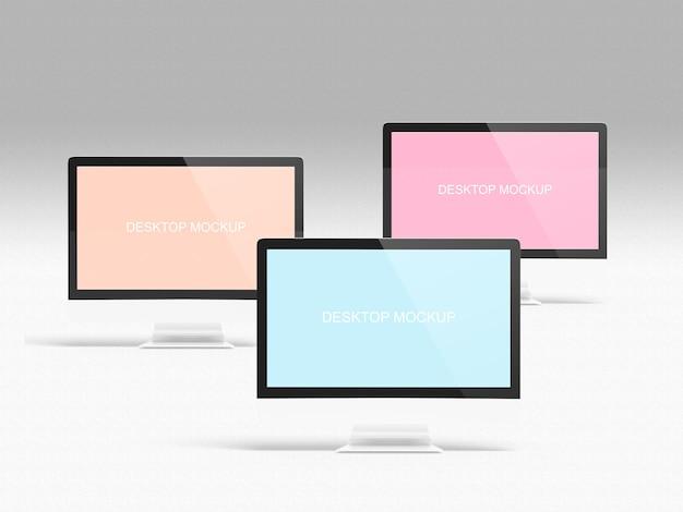 Экран компьютерного макета