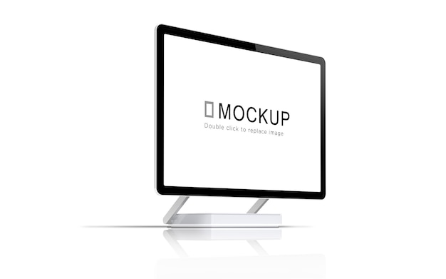 Screen device mockup