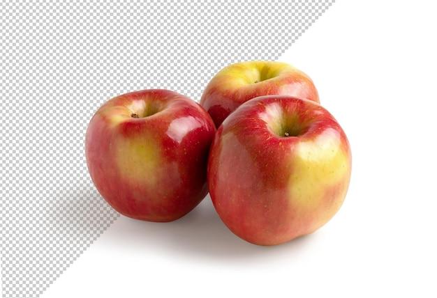 季節の新鮮なリンゴのレンダリング