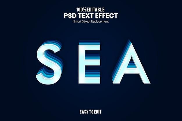 Эффект seatext