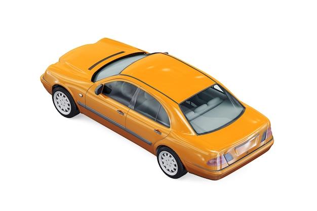 Sedan car 1996 mockup