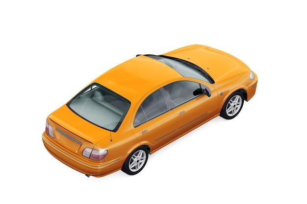Автомобиль седан 2000 макет