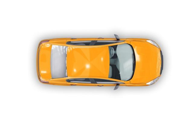 Mockup di auto berlina