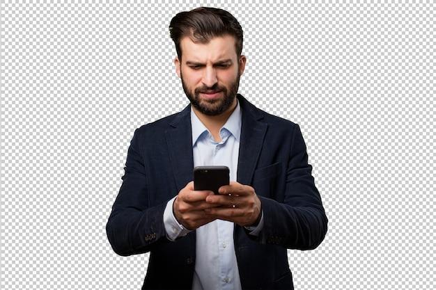 時計を持つシニア美しい女性