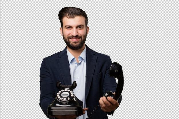手錠付きのシニア美しい女性