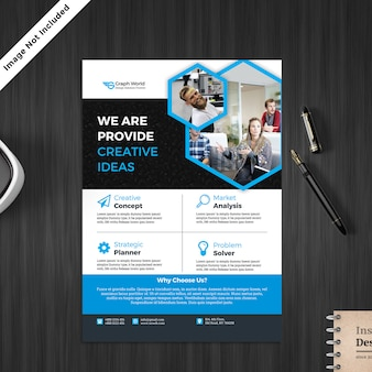 Service flyer template