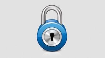 Shiny Lock Web Icon