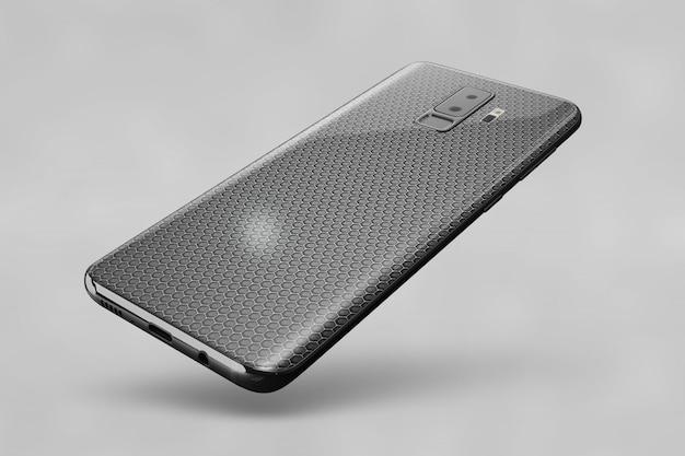 Shiny smartphone cover mockup