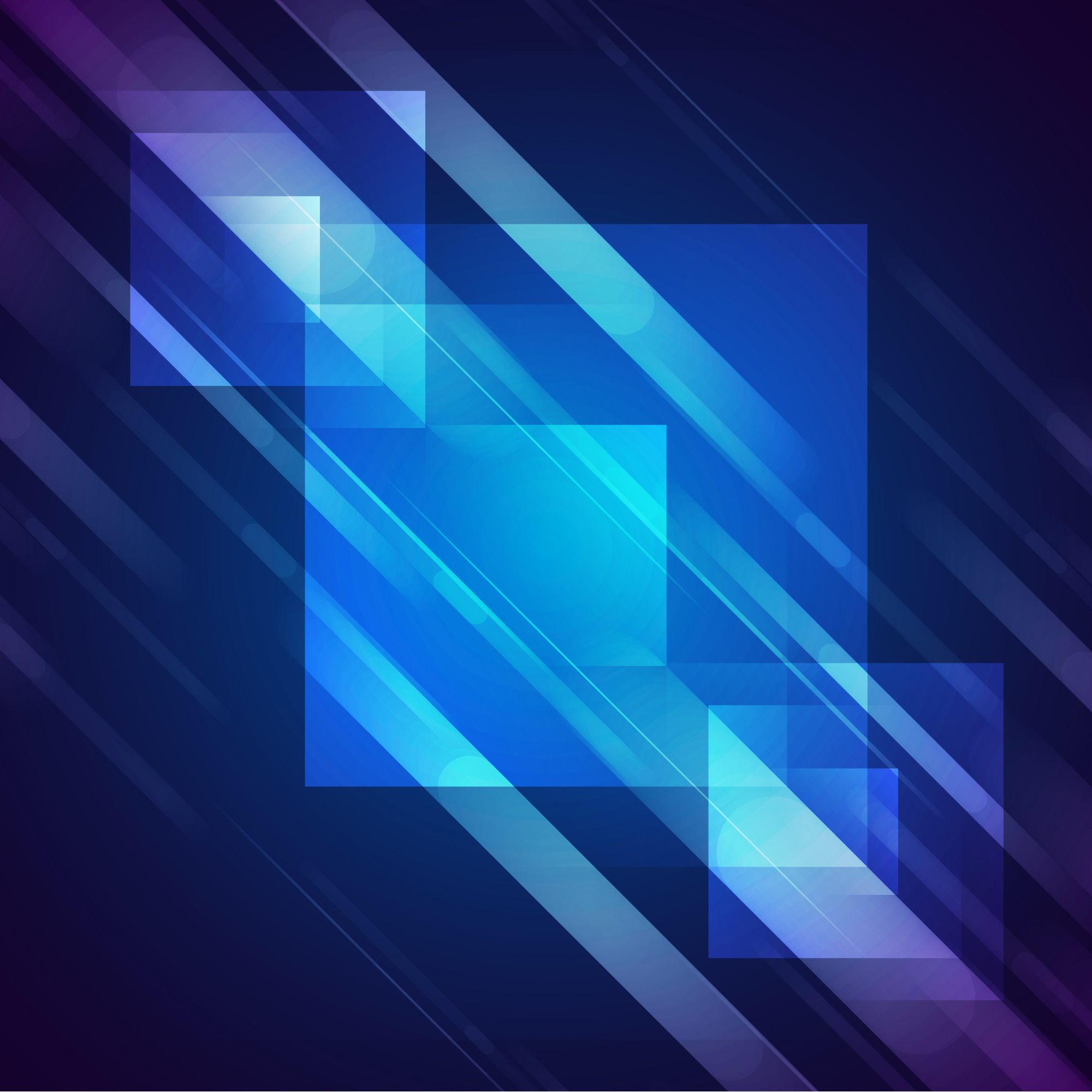 Shiny squares background design