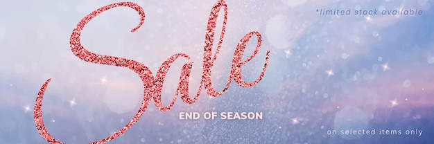Shop sale editable template psd for email header