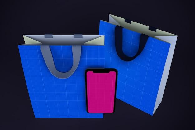 Мокап приложения для покупок