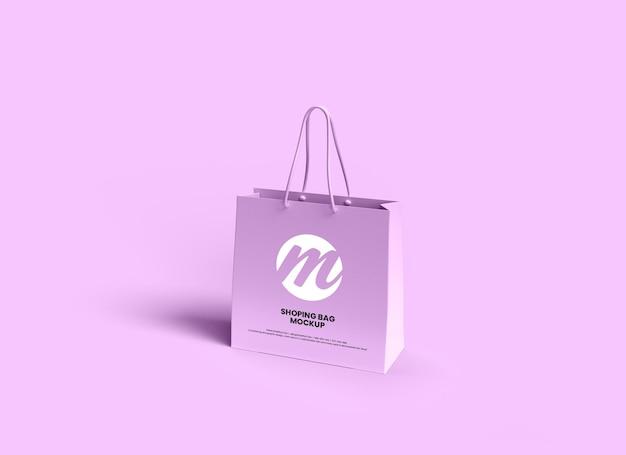 Shopping bag or paper bag mockup design