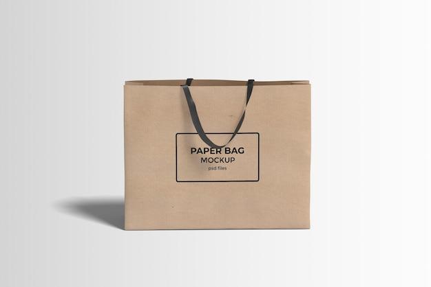 쇼핑 종이 봉투 모형
