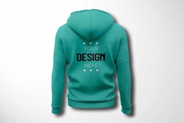 Showcase hoodie mockup issolated