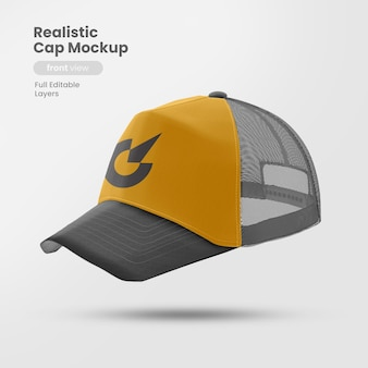Side view of cap mockup