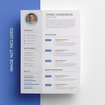 Sidebar creative resume template