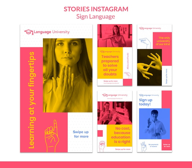 Истории из социальных сетей на жестовом языке