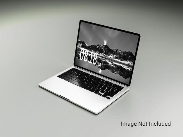 실버 컬러 메탈릭 노트북 이랑