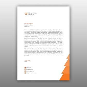 Simple a4 letterhead