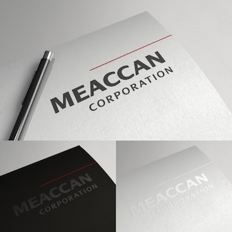 Simple and elegant corporative logotype