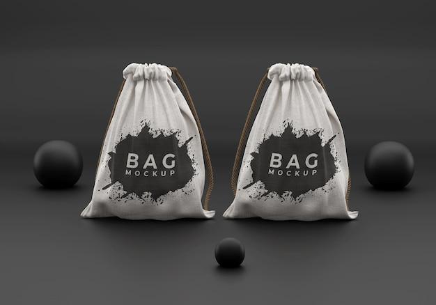 Simple bag mockup