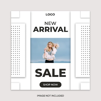 Simple & clean  fashion  post template