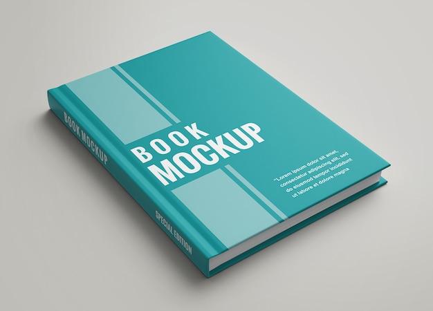 Simple and elegant hard cover book mockup