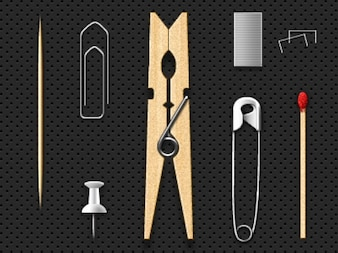 Simple household items