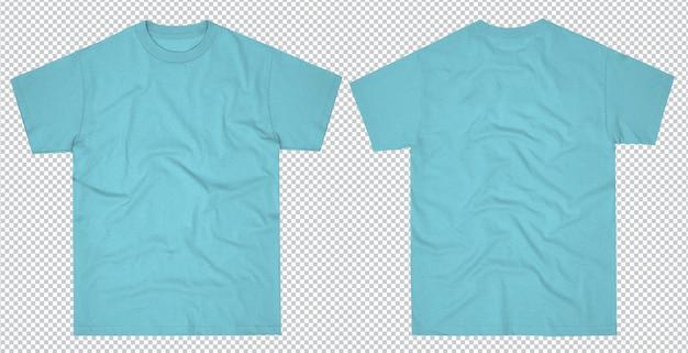 Простая мужская футболка макет