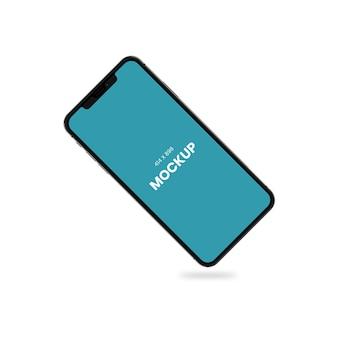 Simple mobile phone mockup