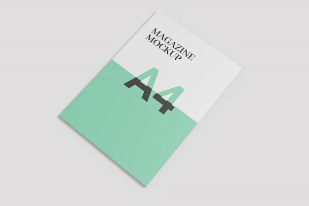 Single magazine mockup
