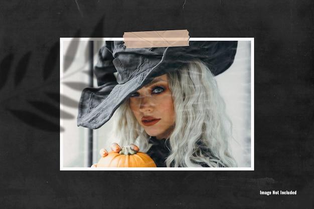 Single photo mood board mockup