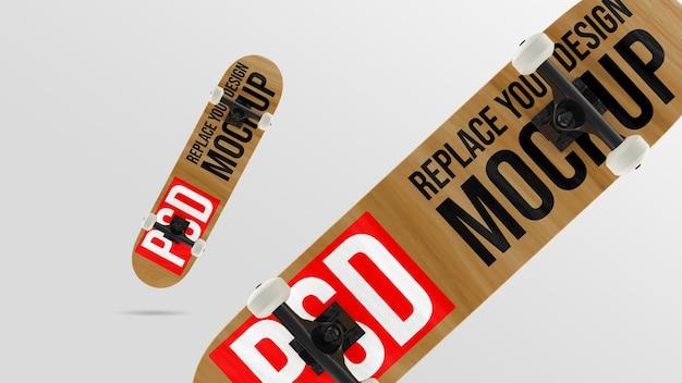 스케이트 보드 3d 렌더링 모형 디자인