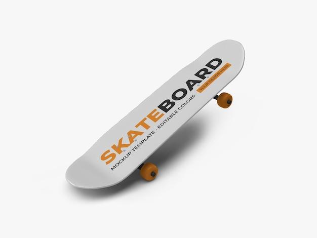 Дизайн макета скейтборда изолированные