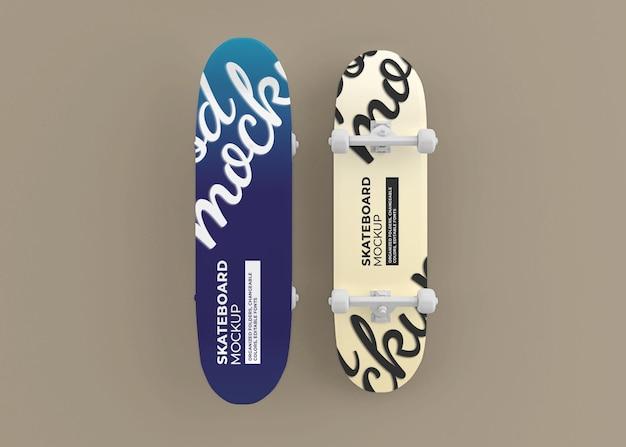 고립 된 스케이트 보드 모형 디자인