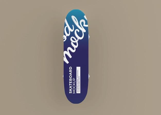 고립 된 스케이트 보드 모형 디자인 프리미엄 PSD 파일