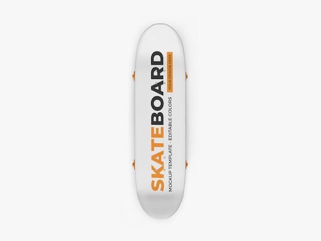 Скейтборд макет изолированные