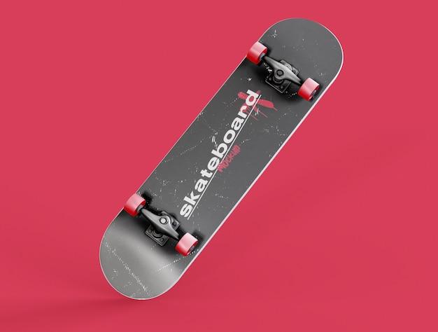 スケートボードのモックアップ