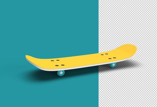 스케이트보드 투명 psd 파일.