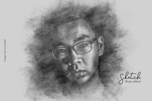 Sketch photo effect