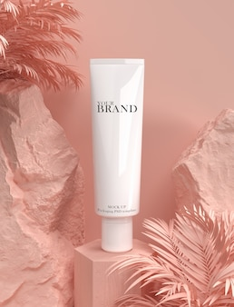 Skin care moisturizing product advertisement
