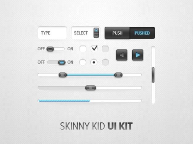 Skinny kid  kit