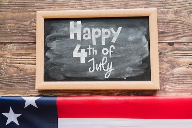 미국 독립 기념일 슬레이트 모형