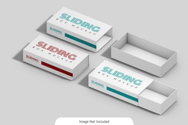 슬라이딩 상자 이랑 디자인 절연