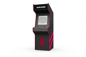 Slot machine mockup