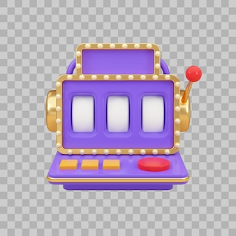 Slot machine with empty wheels