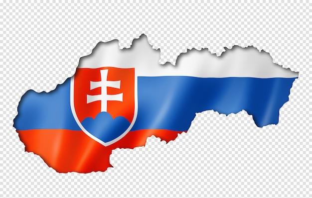 슬로바키아 국기지도