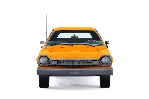 Mockup di piccola auto ciry del 1976
