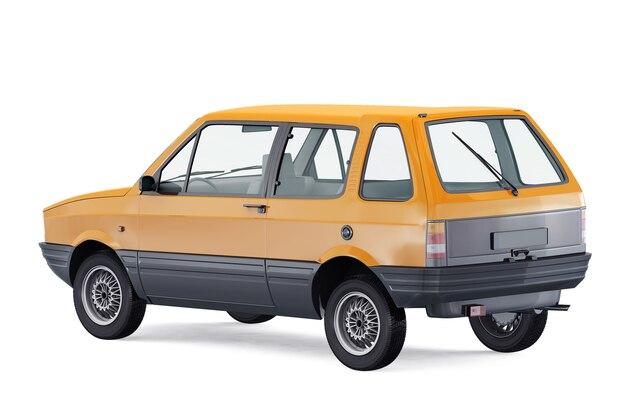 小都市車1984モックアップ